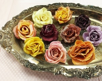 Crystallized (Candied/Sugar Coated) Edible Roses
