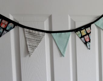 Small pennants - pennants 5 - door of room decoration wreath