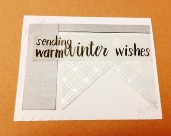 Sending warm winter wishes