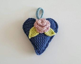 Lavender Hanging Heart
