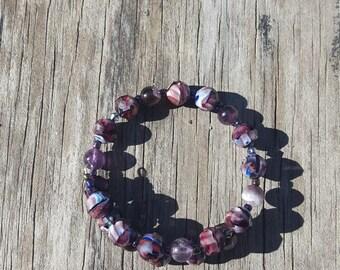 Purple Loopty Bracelet