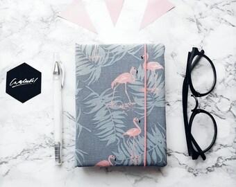 Flamingo handmade notebook
