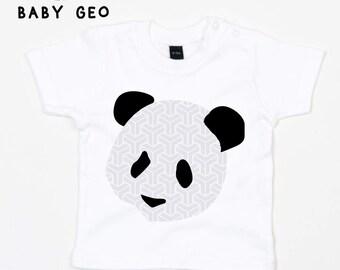 babys geometric tshirt