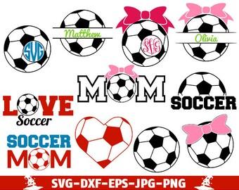 Soccer SVG Cut Files soccer monogram svg soccer monogram soccer cut file soccer svg soccer svg designs soccer svg cricut