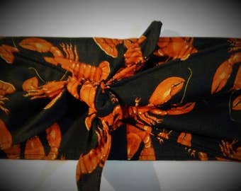 Lobster rockabilly bandana