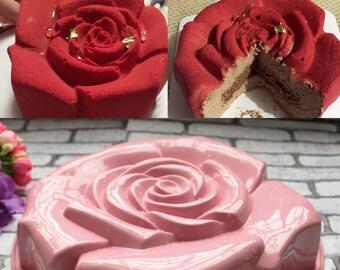 Rose Cake Silicone Mold