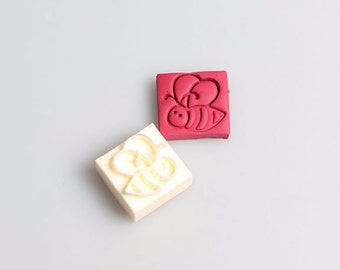 Mini Bee Soap Stamp
