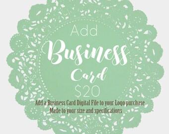 Business Card design, Logo, Branding Logo, Graphic Design,  Business card add on