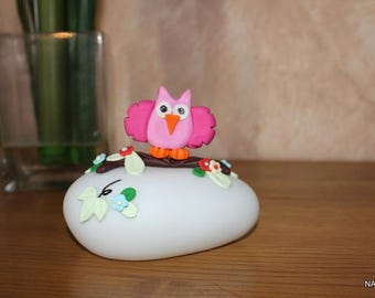 Night owl pink cold porcelain