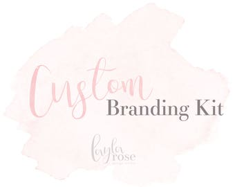 Branding Kit, Branding Package, Custom Branding Kit, Custom Logo Design, Business Logo, Photography Logo, Custom Branding, photography logo