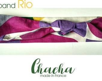 """Headband, headband, turban retro """"RIO"""""""