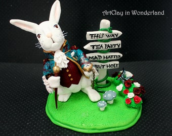 White Rabbit, Alice in Wonderland