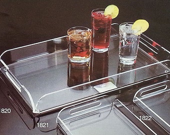 Large Acrylic Serving Trays