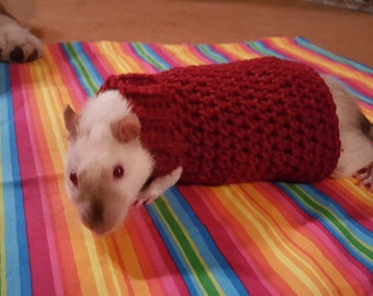 Crochet Rat Sweater