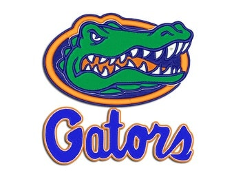 Gators embroidery design - Machine embroidery design