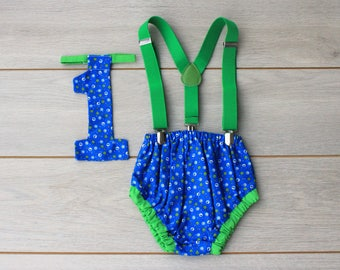 Cake Smash Outfit - 3 Piece First Birthday Set