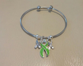 Spread awareness and HOPE with this Lyme disease bracelet