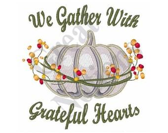 Thanksgiving - Machine Embroidery Design