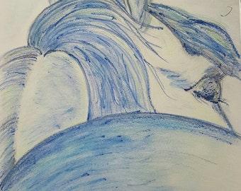 I See You Now - art by Elizabeth Ledwik Bease