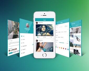 Design *Premium* Professional UI / UX For Android / iOS / Windows App
