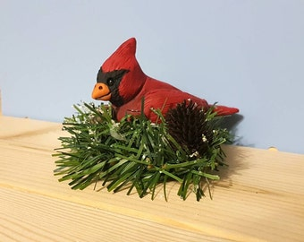 Cardinal Cake Topper Etsy