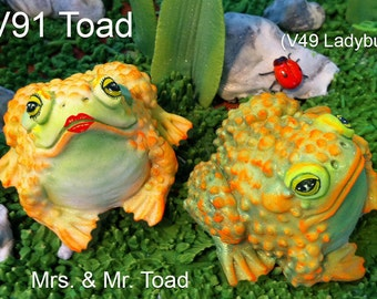 Toad Silicone Mold by Scott Clark Woolley