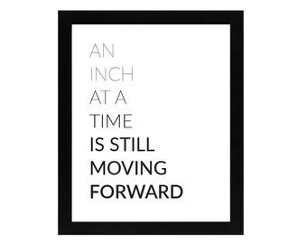 Moving Forward Print