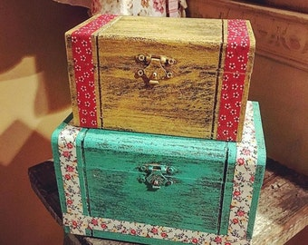 Set of Keepsake Boxes