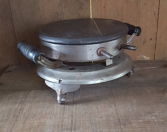 Vintage Camping Burner Cook Stove, Retro Camping Equipment