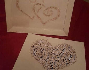 Word art pictures