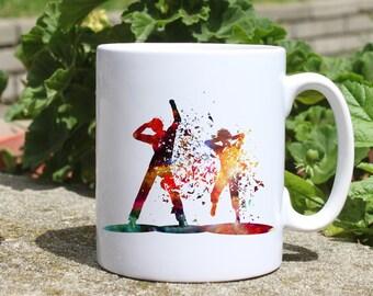 Party People mug - Dance mug - Colorful printed mug - Tee mug - Coffee Mug - Gift Idea