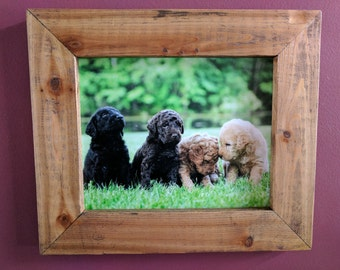 Custom Handmade Cedar Wood Picture Frame