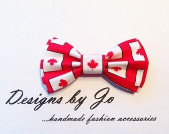 Dad Son Bow Tie, Canadiana Bow Tie, Bow Tie, Bow Tie, Wedding Bow Tie, Canada 150th Bow Tie, Boys Bowtie, Baby Bow Tie, Mens Bow Tie  DS679