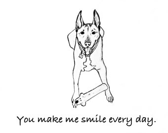 You Make Me Smile Every Day-Custom Picture