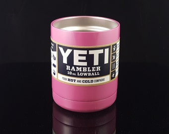 Color Dipped YETI 10 oz. Lowball