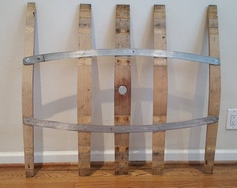 Wine Barrel Stave Wall Decor