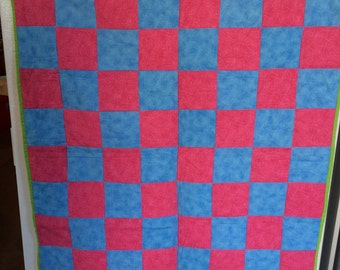 Handmade quilted large checker board only