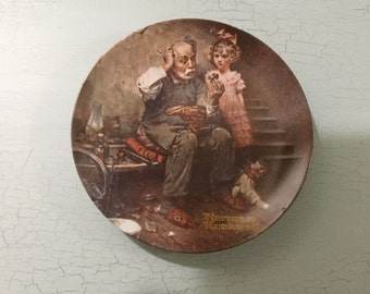 Norman Rockwell ,collectible plate