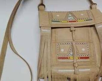 Women's Handmade Moroccan Shoulder Bag 100% Natural leather