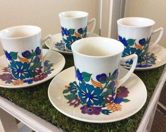Retro Australian cup & saucer set