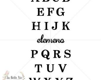 ABCs - Elemeno SVG file
