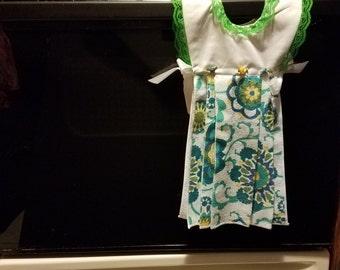 Decorative Kitchen Towel Dress - Hang On Oven Kitchen Towel