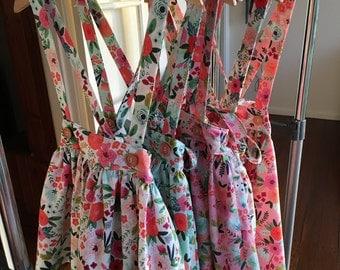 On Trend Girls Suspender Skirt - Size 2-7years