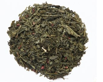 Loose Leaf Tea - Bohemian Raspberry Green Tea