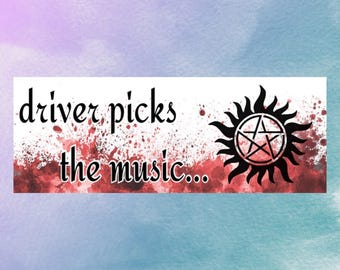 Supernatural Bookmark