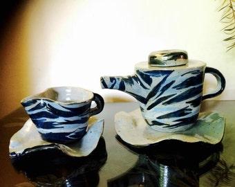 Ceramic Coffee & tea pot set