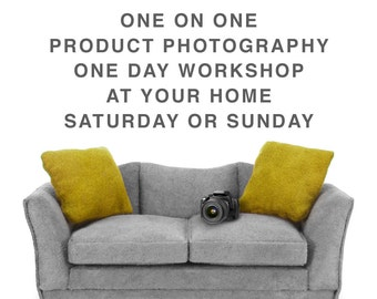 product photography one day workshop saturday or sunday,professional photography,home photography,teaching,course,