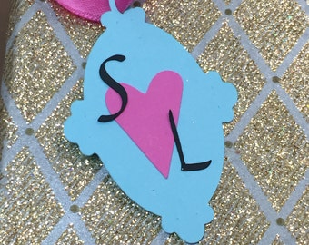 personalized paper die cut tags for gifts and more