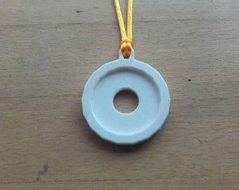 3D printed Planetary Symbol Necklace - Sol