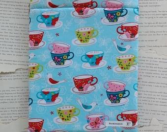 Teacup Bookimabob book/tablet/kindle sleeve